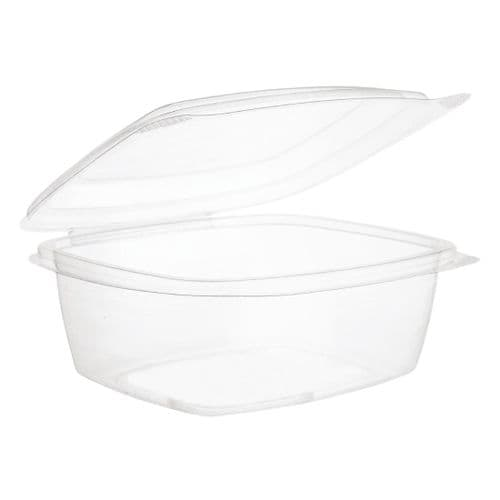 Vegware Compostable Hinged-Lid Deli Containers 680ml / 24oz (Pack of 200)